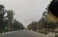 Todo el mundo respetando la norma de cuarentena voluntaria en Irán Ciudad de Qom