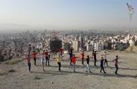 رقص آذربایجانی در بام تهران توسط آیلان