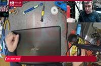 لپ تاپ Asus x553m روشن نمی شود و شارژ ندارد تصویر ندارد