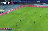 خلاصه بازی فوتبال آرژانتین - شیلی