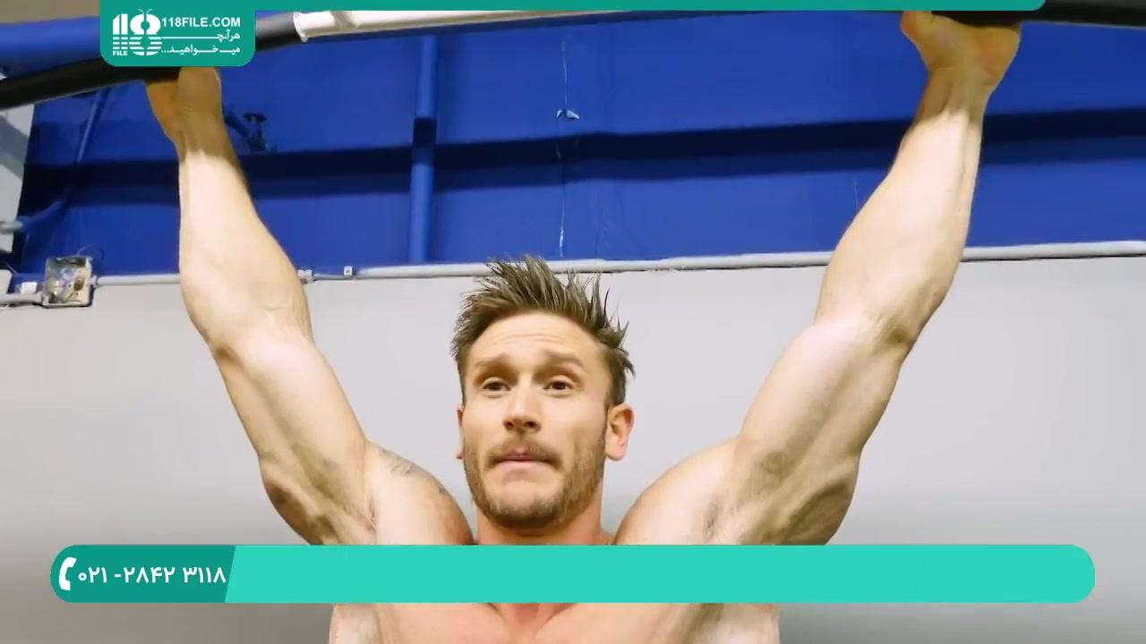 آموزش تمرینات فوق العاده برای شش تیکه کردن شکم