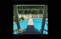 1000 متر باغ ویلای مشجر در محمد شهر کرج دارای حدودا 130 متر بنا