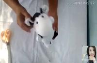 آموزش ساخت عروسک گاو برای عید نوروز با جوراب