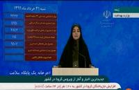 آخرین اخبار و آمار مبتلایان کرونا در ایران -- 99/03/31