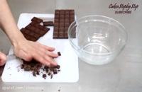 طرز تهیه کفش شکلاتی