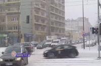 سرمای شدید در لهستان