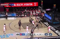 خلاصه بازی بسکتبال بروکلین نتس - دیترویت پیستونز