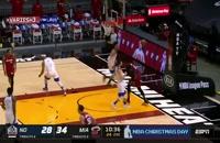 خلاصه بازی بسکتبال میامی هیت - نیو اورلینز