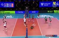 خلاصه بازی والیبال لهستان - بلغارستان