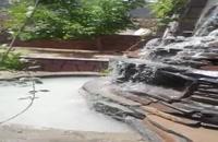 طرح و اجرای آبنما و آبشار بااستادکاران باتجربه باسنگهای کوهی 09124026545
