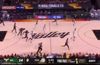 خلاصه بازی بسکتبال فینیکس سانز - میلواکی باکس