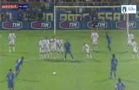 زیباترین ضربات کاشته بازیکنان تیم ملی ایتالیا