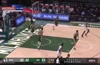 خلاصه بازی بسکتبال میلواکی باکس - بروکلین نتس