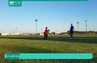 آموزش فوتبال به کودکان - فوتبالیست حرفه ای