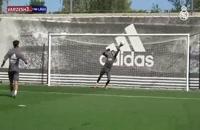تمرینات آماده سازی بازیکنان تیم رئال مادرید