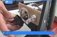 آموزش تودوزی خودرو -نحوه دوخت و چاپ آرم خودرو روی روکش صندلی