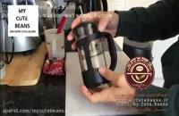 آموزش قهوه درست کردن با فرنچ پرس - فروشگاه اینترنتی قهوه و دمنوش، تجهیزات