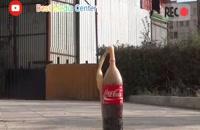 Experiment: Coca Cola vs Mentos Slow Motion | صحنه آهسته کوکا کولا و منتوس