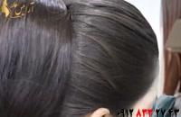 فیلم آموزش چند مدل شینیون ساده مو با کلیپس