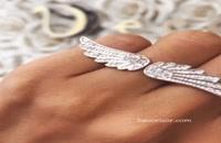 لطافت بالهای یک فرشته را بر دستان خود احساس کنید!