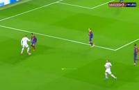 عملکرد امباپه برابر بارسلونا