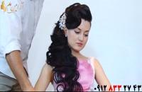 فیلم آموزش شینیون باز مو + مدل مو یکطرفه