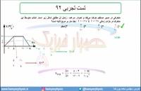 جلسه 42 فیزیک نظام قدیم - حرکت شناسی 20 تست تجربی 92 - مدرس محمد پوررضا