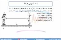 جلسه 75 فیزیک دوازدهم - قوانین حرکت نیوتون 12 و تست ریاضی خ 98 - محمد پوررضا