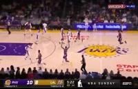 بسکتبال لس آنجلس لیکرز - فینیکس سانز
